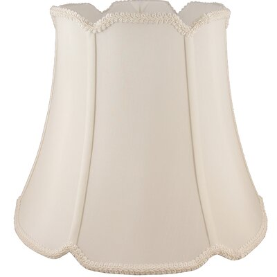 14 Faux Silk Bell Lamp Shade Color: Natural