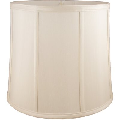 9 Faux Silk Drum Lamp Shade Color: Natural