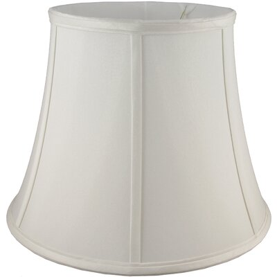 20 Faux Silk Bell Lamp Shade Color: Cream