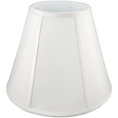 24 Faux Silk Empire Lamp Shade Color: White
