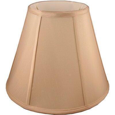 24 Faux Silk Empire Lamp Shade Color: Honey