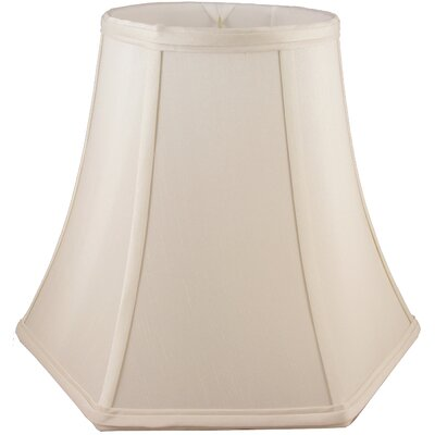 8 Faux Silk Bell Lamp Shade Color: Natural