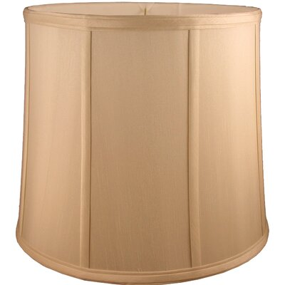 15 Faux Silk Drum Lamp Shade Color: Honey