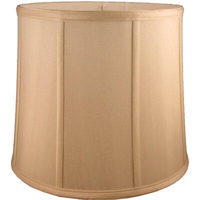 15 Faux Silk Drum Lamp Shade Color: Honey