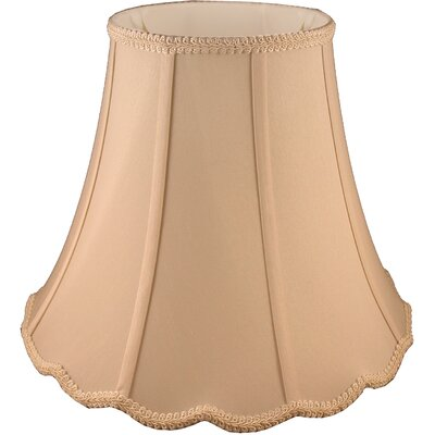 8 Faux Silk Bell Lamp Shade Color: Honey