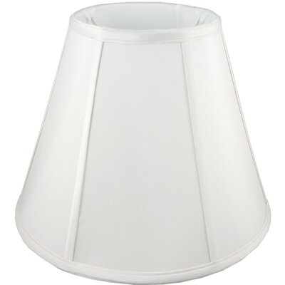 18 Faux Silk Empire Lamp Shade Color: White