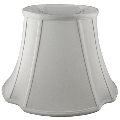 20 Faux Silk Bell Lamp Shade Color: Pebble