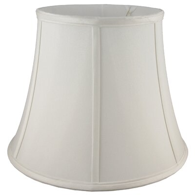 13 Faux Silk Bell Lamp Shade Color: Pebble