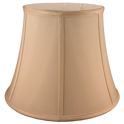 13 Faux Silk Bell Lamp Shade Color: Honey