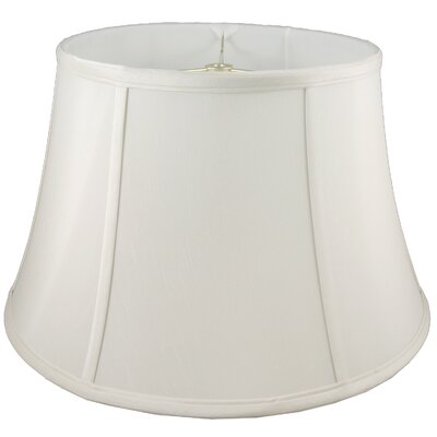 17 Faux Silk Bell Lamp Shade Color: Cream