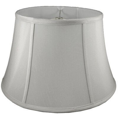 13 Silk Bell Lamp Shade Color: Pebble