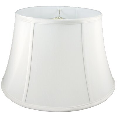 17 Faux Silk Bell Lamp Shade Color: White