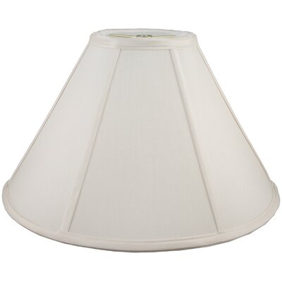 21 Faux Silk Empire Lamp Shade Color: Cream
