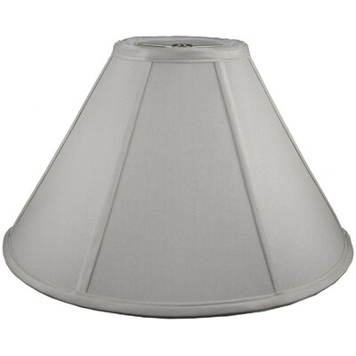 12 Faux Silk Empire Lamp Shade Color: Pebble