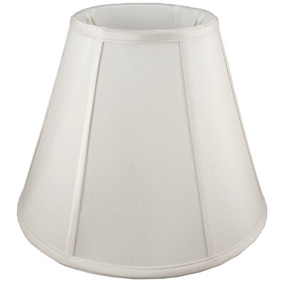 6 Faux Silk Empire Candelabra Shade Color: Cream