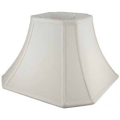 15 Faux Silk Bell Lamp Shade Color: Cream