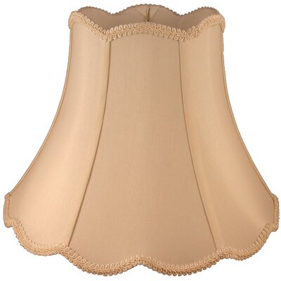 18 Faux Silk Bell Lamp Shade Color: Honey