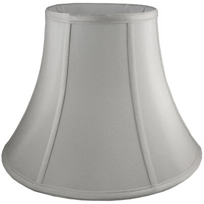 18 Faux Silk Bell Lamp Shade Color: Pebble