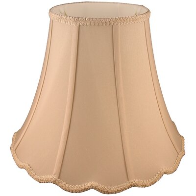 10 Faux Silk Bell Lamp Shade Color: Honey