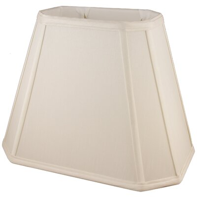 12 Faux Silk Empire Lamp Shade Color: Natural