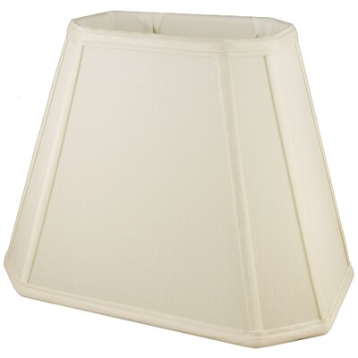 12 Faux Silk Empire Lamp Shade Color: Ivory