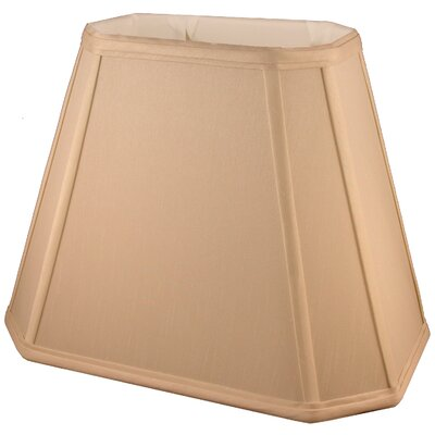 12 Faux Silk Empire Lamp Shade Color: Honey