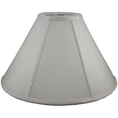 21 Faux Silk Empire Lamp Shade Color: Pebble