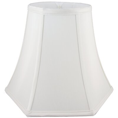 20 Faux Silk Bell Lamp Shade Color: White