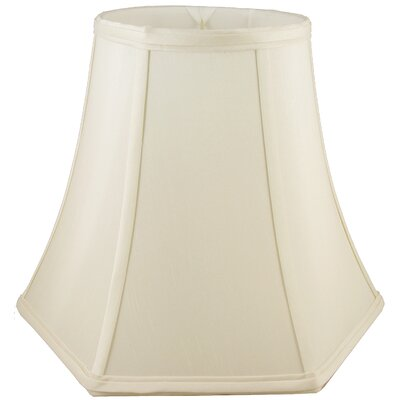 14 Faux Silk Bell Lamp Shade Color: Ivory