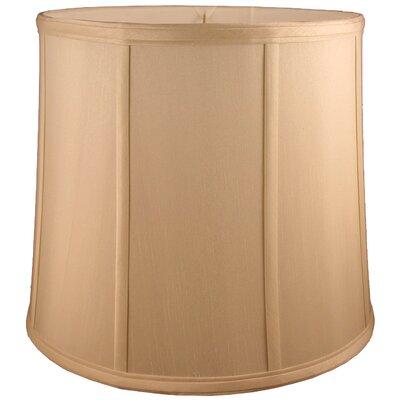 10 Faux Silk Drum Lamp Shade Color: Honey