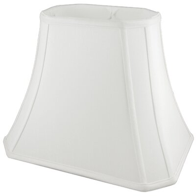 10 Faux Silk Bell Lamp Shade Color: White