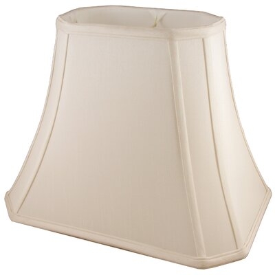 17 Faux Silk Bell Lamp Shade Color: Natural