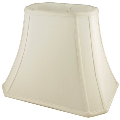 15 Faux Silk Bell Lamp Shade Color: Ivory