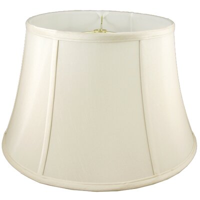 17 Faux Silk Bell Lamp Shade Color: Ivory