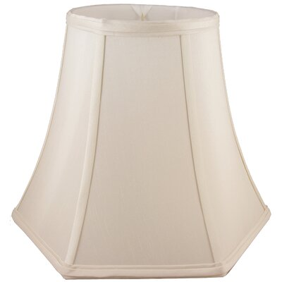 20 Faux Silk Bell Lamp Shade Color: Natural