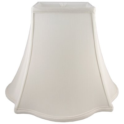 8 Faux Silk Bell Lamp Shade Color: Cream