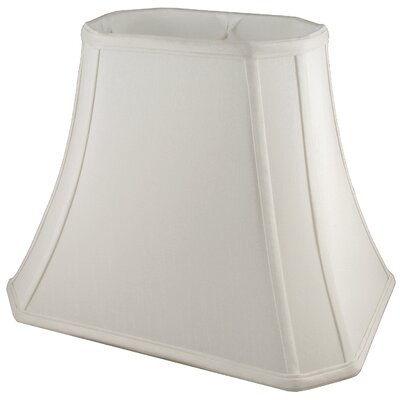 15 Faux Silk Bell Lamp Shade Color: Pebble
