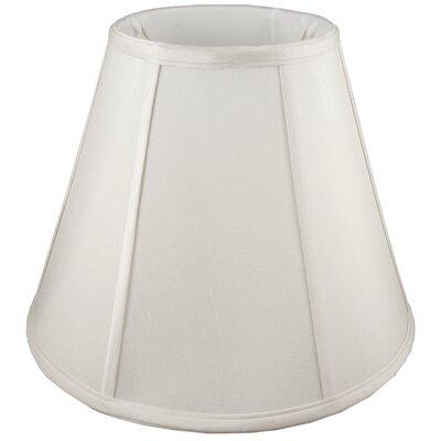 12 Faux Silk Empire Lamp Shade Color: Cream