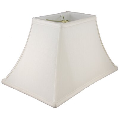 10 Faux Silk Bell Lamp Shade Color: Cream