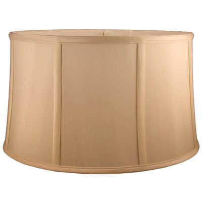 14 Silk Drum Lamp Shade Color: Honey