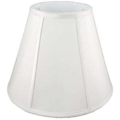 8 Silk Empire Lamp Shade Color: White