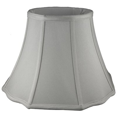 18 Silk Bell Lamp Shade Color: Pebble