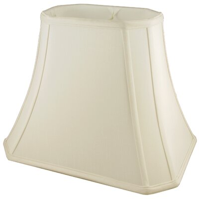 18 Silk Bell Lamp Shade Color: Ivory