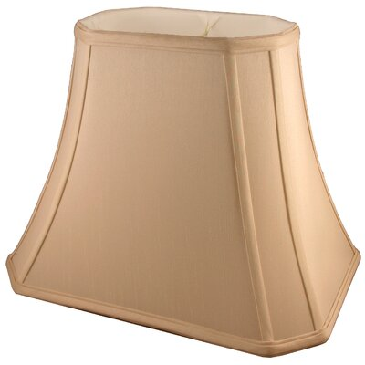 18 Silk Bell Lamp Shade Color: Honey
