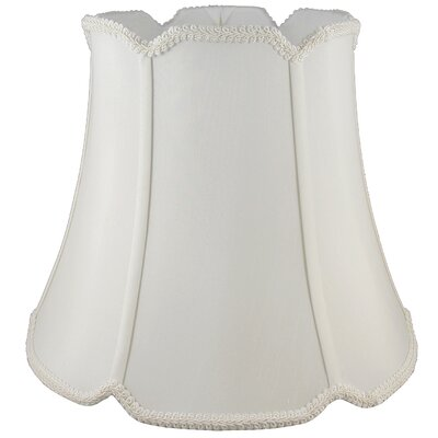 12 Silk Bell Lamp Shade Color: Cream