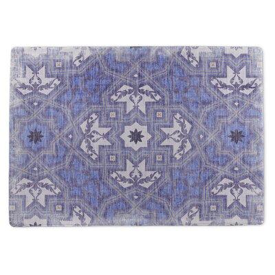 Burlington Nomad Blue/Purple Area Rug Rug Size: 5 x 7