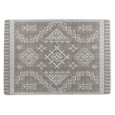 Burlington Marrakesh Gray Area Rug Rug Size: 3 x 5