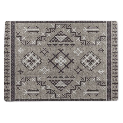Burlington Marrakesh Gray/Purple Area Rug Rug Size: 3 x 5