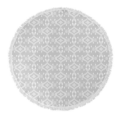 Heena Round Beach Towel