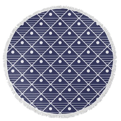 Moonlake Round Beach Towel